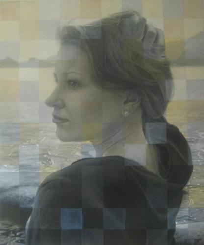 Eugen Blank, Schwester, People: Portraits, Expressionism