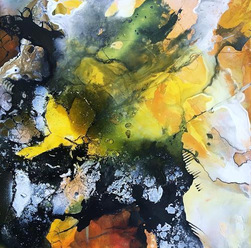 Ursi Goetz, Die Sonne scheint für alle, Abstract art, Emotions: Love, Abstract Art, Abstract Expressionism