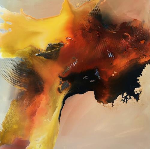Ursi Goetz, Sehnsucht nach Frieden ll, Emotions, Abstract art, Abstract Art, Expressionism