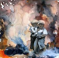 Ursi-Goetz-People-Children-Abstract-art-Contemporary-Art-Contemporary-Art