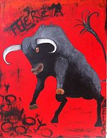 N.Catherin-Meloo-Animals-Land-Miscellaneous-Contemporary-Art-Neo-Expressionism