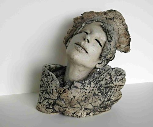 Renate Migas, Könnt` ich fliegen..., Emotions, Poetry, Contemporary Art, Expressionism