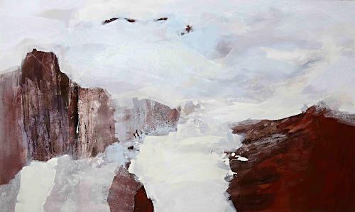 Renate Migas, Im Reich der Elemente, Mythology, Nature, Contemporary Art, Expressionism