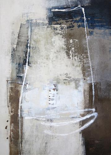 Renate Migas, Strukturen vor Schwarz II, Nature: Earth, Poetry, Contemporary Art, Abstract Expressionism