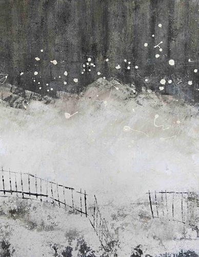 Renate Migas, Flockentanz, Nature, Poetry, Contemporary Art, Expressionism