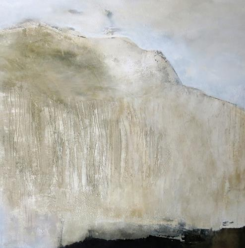 Renate Migas, dark water, Nature: Water, Poetry, Contemporary Art, Abstract Expressionism