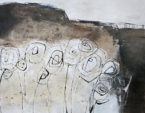 Renate Migas, verborgen Blühen, People, Poetry, Contemporary Art, Abstract Expressionism
