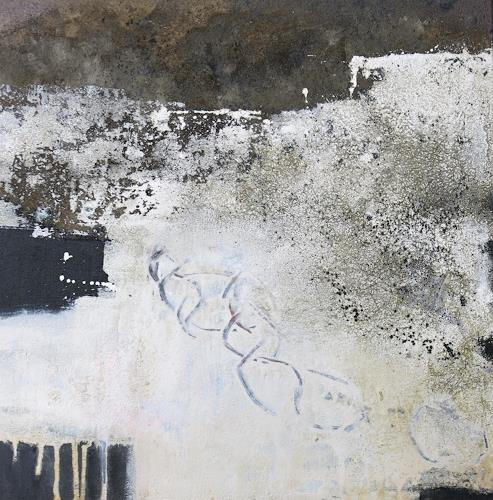 Renate Migas, Nachtwanderung, Landscapes, Poetry, Contemporary Art, Abstract Expressionism