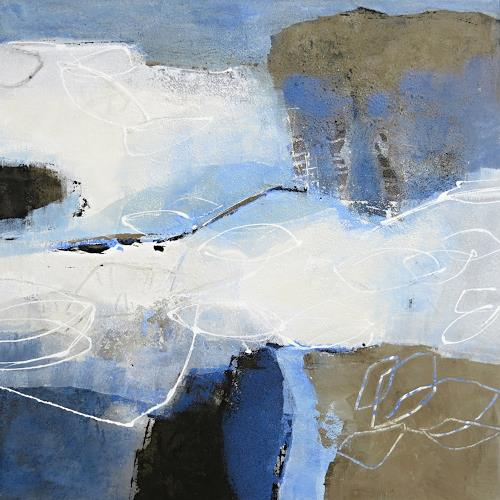 Renate Migas, Dezembernebel, Landscapes: Winter, Poetry, Contemporary Art, Expressionism