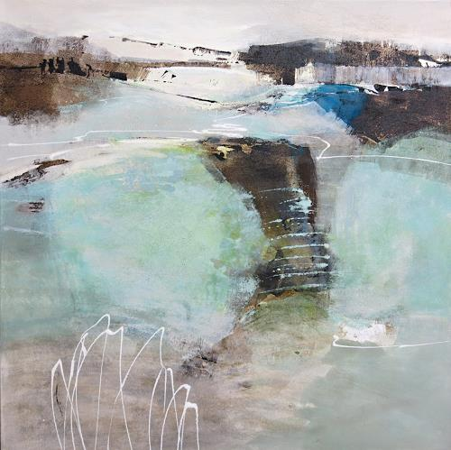 Renate Migas, Stille Tage, Nature: Air, Poetry, Contemporary Art, Expressionism