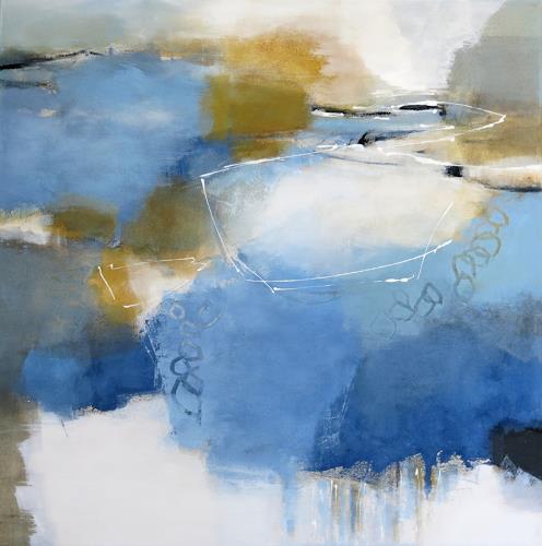 Renate Migas, Farbraum II, Nature, Poetry, Contemporary Art, Expressionism