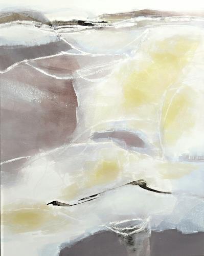 Renate Migas, Zartes Weben I, Nature, Poetry, Contemporary Art, Expressionism