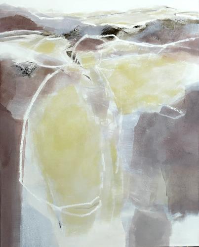 Renate Migas, Zartes Weben II, Nature, Poetry, Contemporary Art, Expressionism