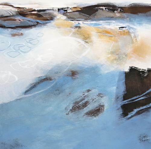 Renate Migas, Nach dem Regen, Landscapes: Spring, Poetry, Contemporary Art, Expressionism
