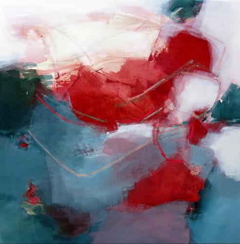 Renate Migas, smile of summer, Landscapes: Summer, Poetry, Contemporary Art, Expressionism