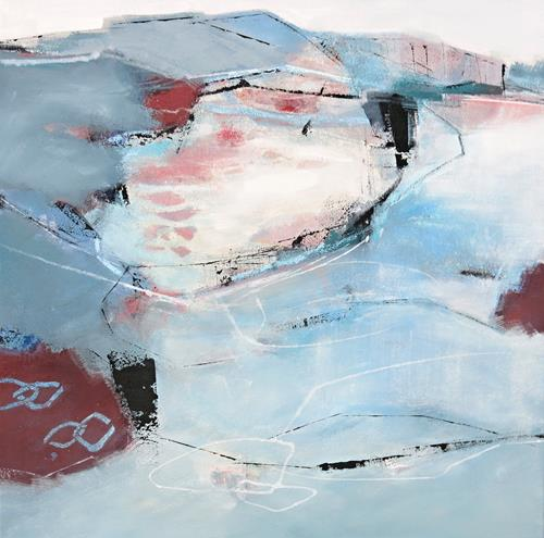 Renate Migas, fragiler Hauch, Landscapes: Sea/Ocean, Symbol, Contemporary Art, Expressionism