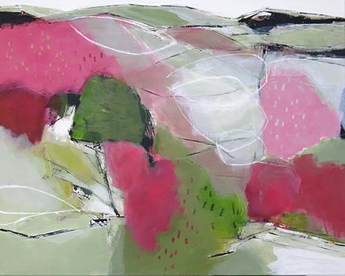 Renate Migas, Vorwiegend heiter, Nature, Poetry, Contemporary Art, Expressionism
