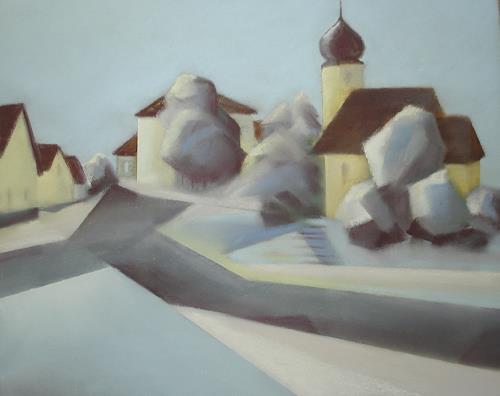 Kerstin Weber, Hohenstadt, Miscellaneous Landscapes, Cubism, Expressionism
