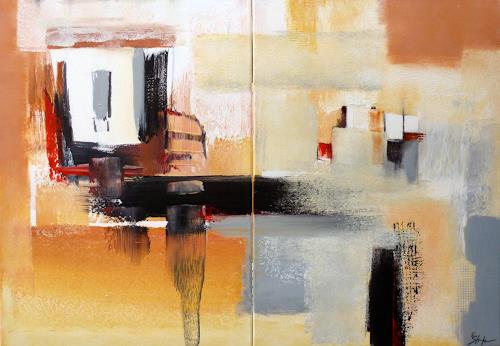 Elke Andrea Strate, Paarweise, Abstract art, Modern Age