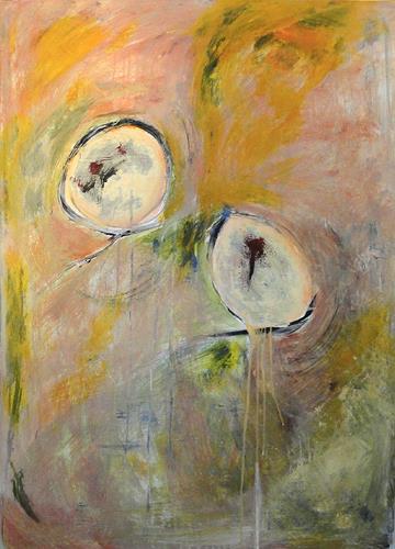 Frauke Klinkforth, Leben II, Abstract art, Fantasy, Abstract Art
