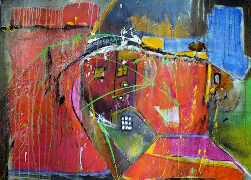 Frauke Klinkforth, o.T., Miscellaneous Buildings, Abstract art, Abstract Art