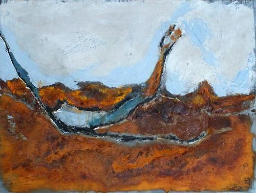 Frauke Klinkforth, In einem Land vor unserer Zeit, Abstract art