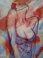 Elke-Hildegard-Qual-People-Women-Contemporary-Art-Neue-Wilde