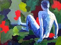 Elke-Hildegard-Qual-Erotic-motifs-Male-nudes-Contemporary-Art-Postmodernism