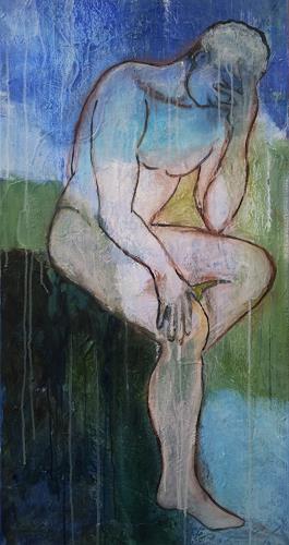 Elke Hildegard Qual, Desperation, Erotic motifs: Male nudes, Postmodernism