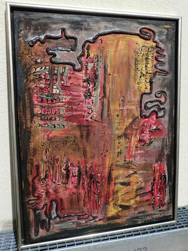 Roland Ehmig, Blut und Asche, Abstract art, Fantasy, Abstract Art