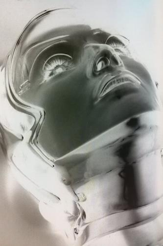 Roland Ehmig, xray woman, Abstract art, Fantasy, Abstract Art, Abstract Expressionism