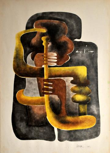 Vladimiro Miszak, Musik, Music: Concerts, Abstract Expressionism