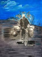 Jorge-Melicio-People-Men-Traffic-Bicycle-Modern-Age-Photo-Realism-Hyperrealism
