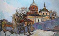 Juliya-Zhukova-Landscapes-Winter-Architecture-Modern-Times-Realism