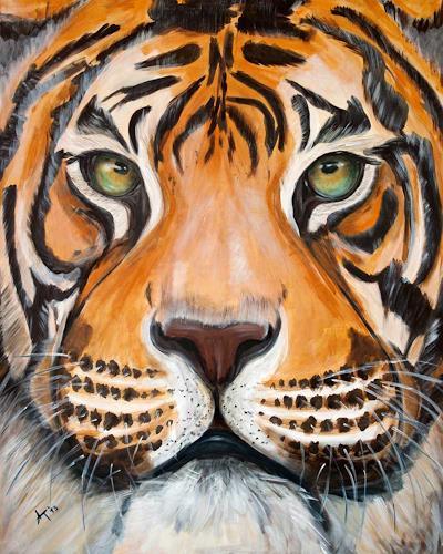 Annett Tropschug, Im Focus, Animals: Land, Hunting, Contemporary Art