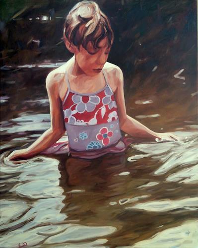 Daniel Wimmer, im Moment, People: Children, People: Women, Modern Age, Expressionism
