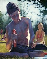 Daniel-Wimmer-People-Children-People-Men-Modern-Age-Expressive-Realism