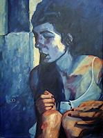 Daniel-Wimmer-People-Women-People-Faces-Contemporary-Art-Neo-Expressionism