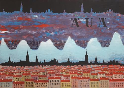 René Gygax, ÄUÄ, Decorative Art, Contemporary Art, Abstract Expressionism