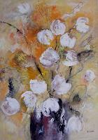 Hiltrud-Schick-Nature-Plants-Flowers-Contemporary-Art-Contemporary-Art