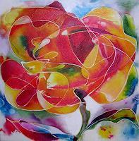 Hiltrud-Schick-Plants-Flowers-Nature-Miscellaneous-Contemporary-Art-Contemporary-Art