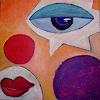 H. Schick, modern Art II Clown