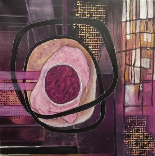 Hiltrud Schick, Verschmelzungen, Abstract art, Decorative Art, Contemporary Art