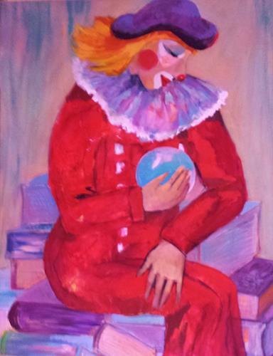 Hiltrud Schick, Die Welt ist (k)ein Zirkus, Humor, Circus, Contemporary Art