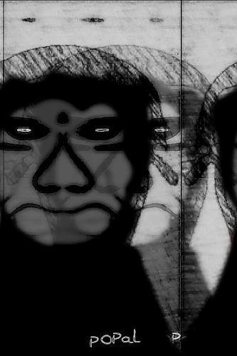 Popals Own, POPal♡, Death/Illness, Abstract art, Abstract Art