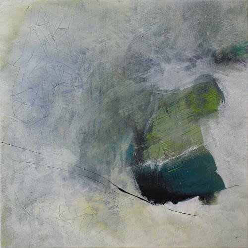 Jeannette Erb, Aufgetaut, Abstract art, Abstract Art