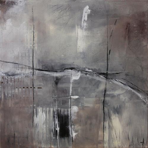 Jeannette Erb, Erinnerung, Abstract art