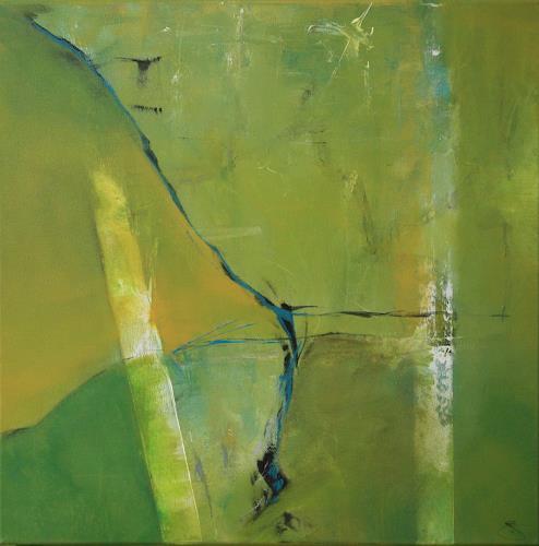 Jeannette Erb, Freiheit, Abstract art, Abstract Art