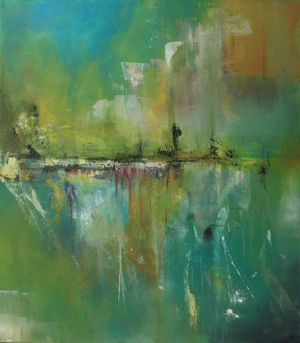 Jeannette Erb, Farbrausch, Abstract art, Expressionism
