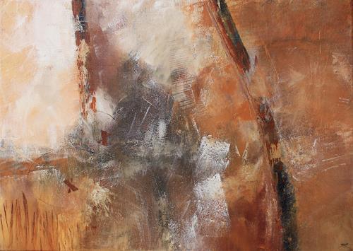 Jeannette Erb, Schweigen, Abstract art, Abstract Art